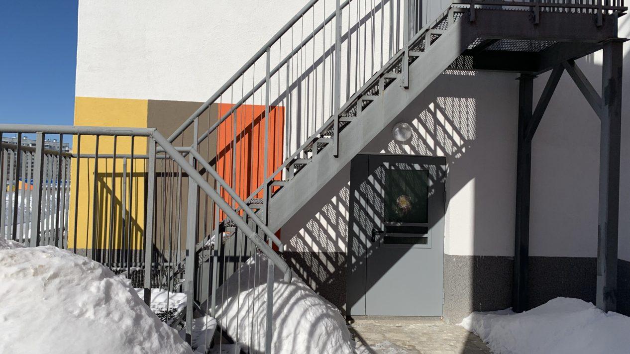 Эвакуационные лестницы ул. Профсоюзная