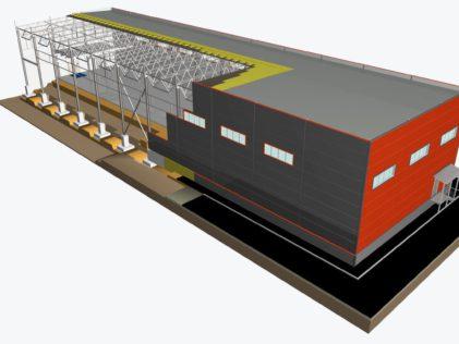 Проектирование объектов из металлоконструкций по техзаданию